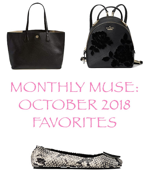 october favorites-monthly muse-kate spade-erin condren-tory burch- handbags