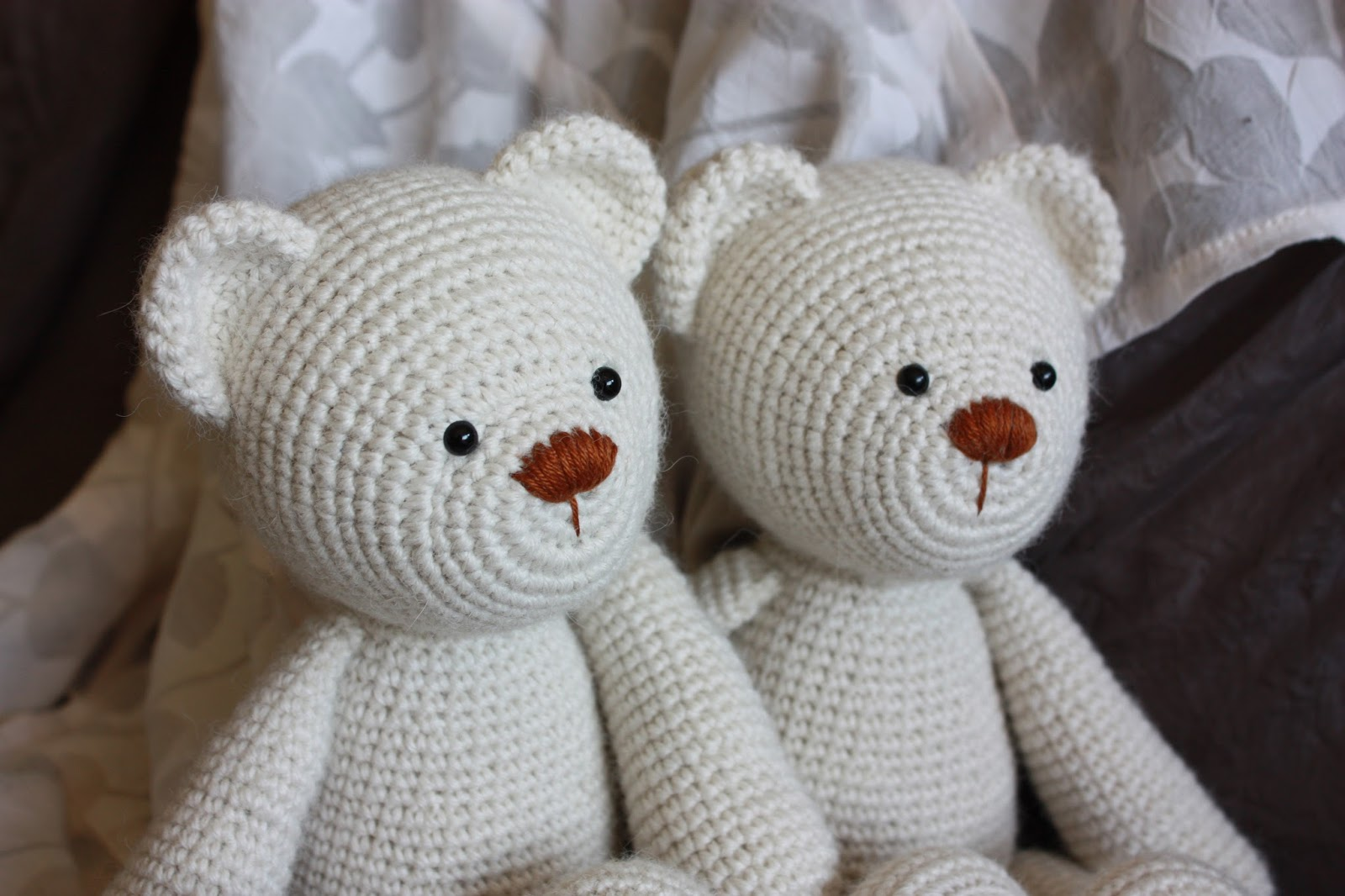 Amigurumi Free Patterns Bear : Happyamigurumi: lucas the teddy bear pattern: new teddy bear friends