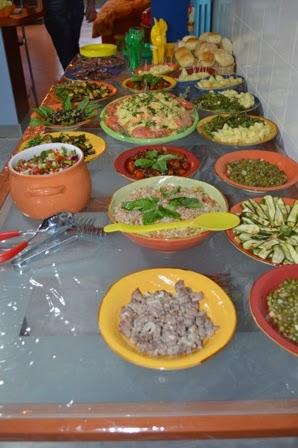 Le cene di gi come preparare un buffet per 50 persone in for Cucinare per 50