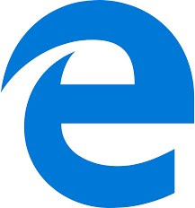Microsoft Edgeのマーク…eの形をちょっと崩している