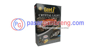 Produk Getf 1 Crystal Light