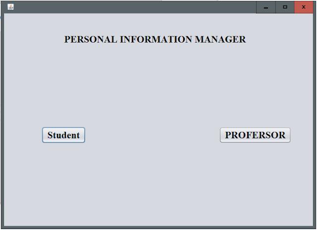 Project Student Management