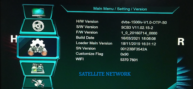 1506LV 1G 8M SIM TYPE RECEIVER NEW SOFTWARE UPDATE 30 MARCH 2021