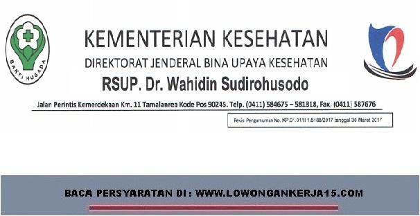 Lowongan kerja Non PNS Rumah sakit dr wahidin