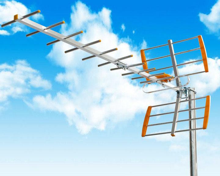 Aerial UHF untuk siaran digital MyTV