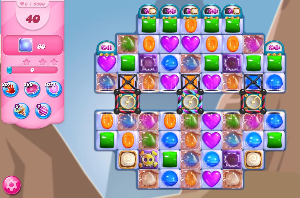 Candy Crush Saga level 8800