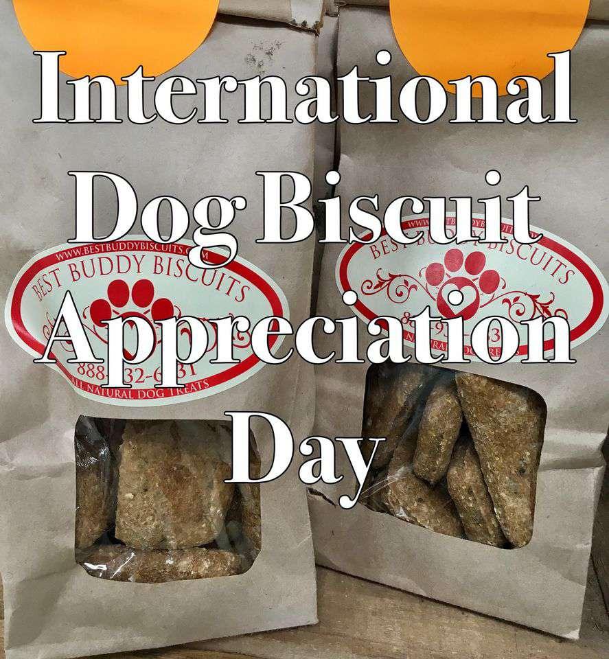 International Dog Biscuit Appreciation Day Wishes Photos