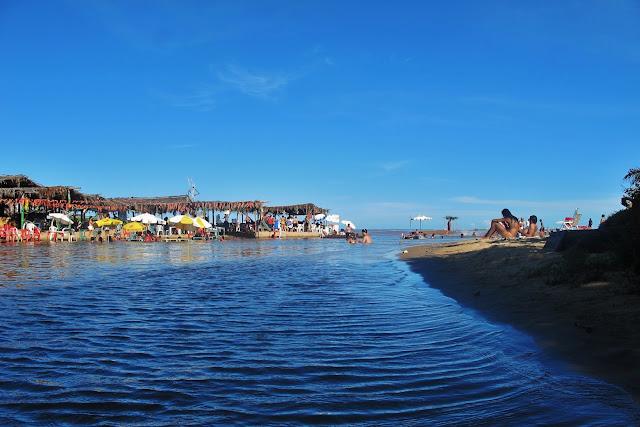 Riacho Doce, próximo à Dunas de Itaúnas, no Espírito Santo.