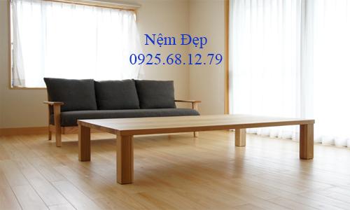 bọc nệm ghế sofa gỗ 36