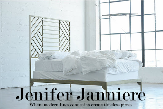 Contemporary Gold Brass Furniture from Jenifer Janniere