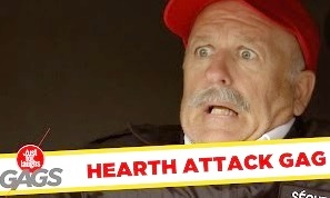 Funny Video – Man Has a Heart Attack at Work