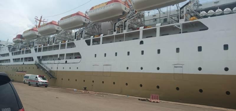 9 Orang Kru Kapal KM Kelud Batam-Medan Reaktif Covid-19
