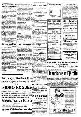 Exposición escolar en Fañanás