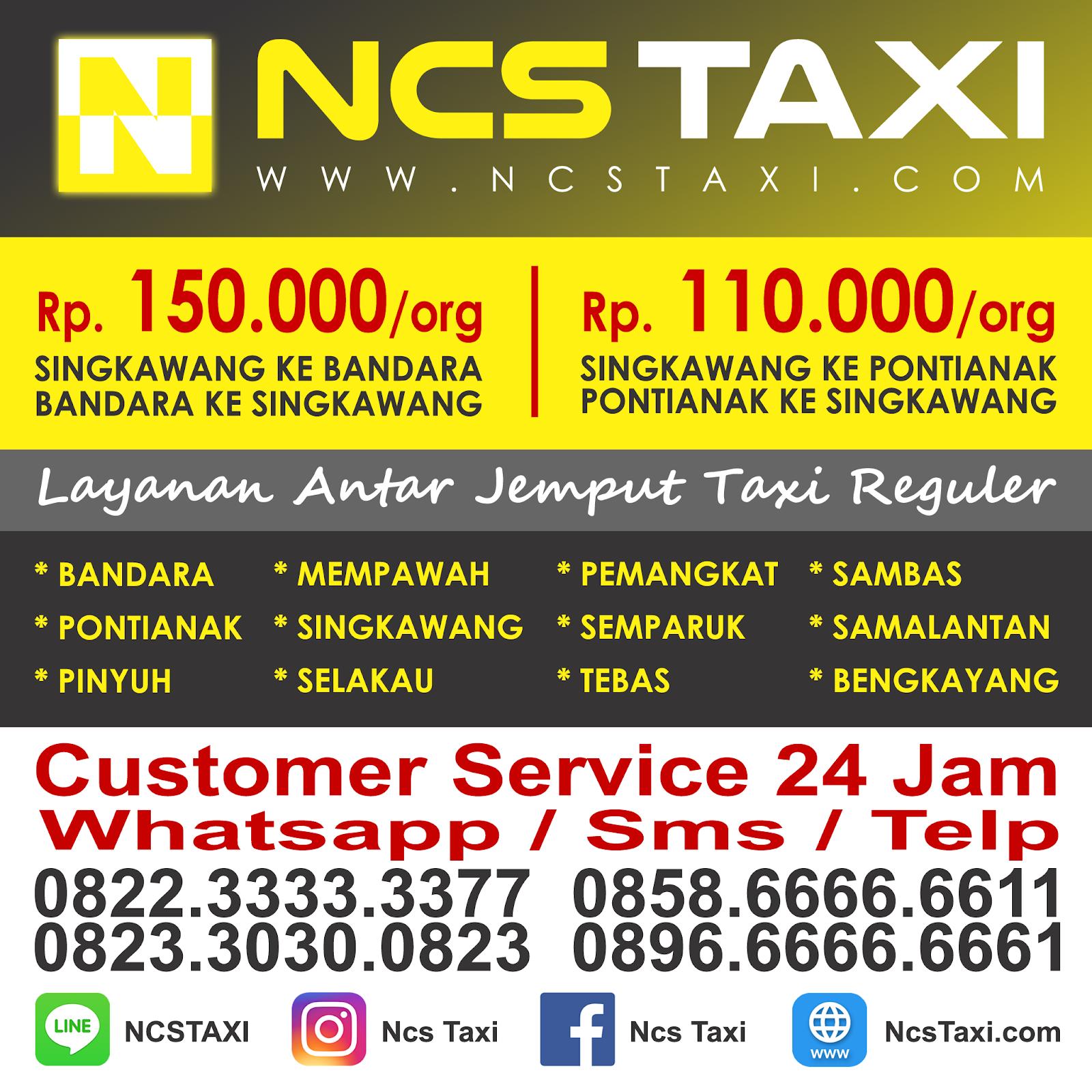 Nomor Telepon Penting Di Kota Pontianak Ncstaxi Com Ncs Taxi Singkawang Pontianak Bandara Kalimantan Barat