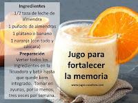 Recetas de jugos curativos