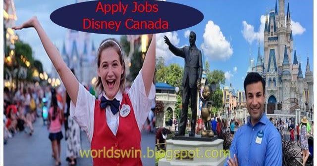Apply Jobs Openings At Disney Canada - Worldswin - Jobs -6749