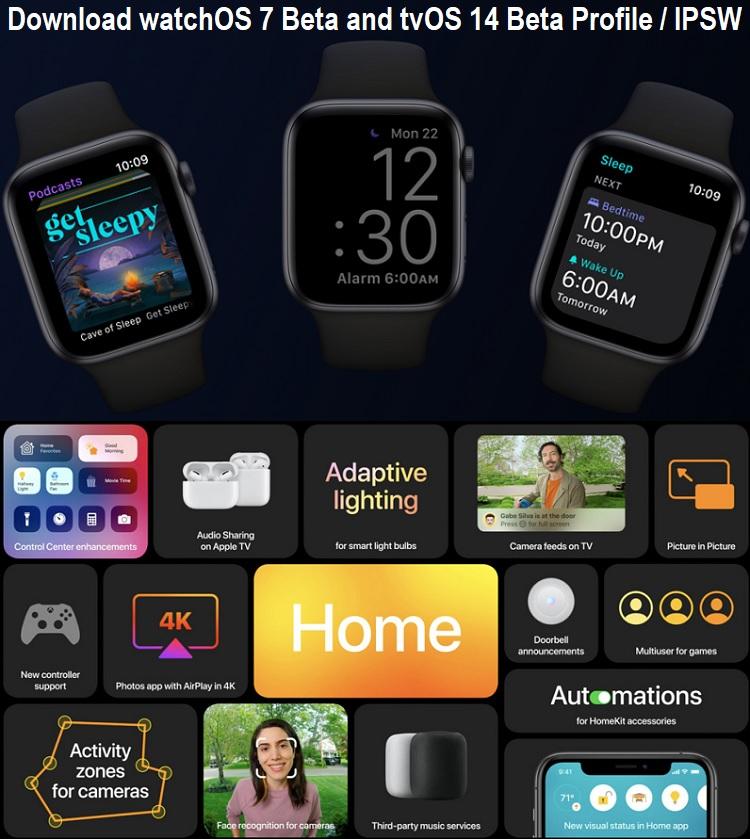 watchOS 7 Beta Profile Download Link