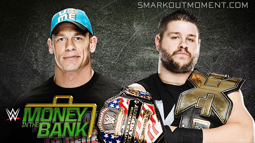 WWE Money in the Bank 2015 ppv John Cena vs Kevin Owens
