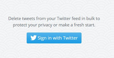 Cara Hapus Semua Tweet