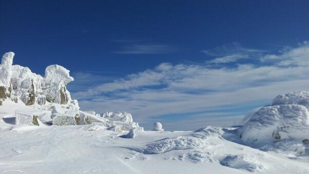 Desktop HD Wallpaper Winter Snow Mountains Trees