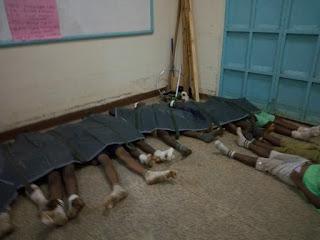 Kakamega primary school stampede. PHOTO   SG