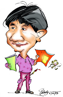 Triambak Sharma, Cartoonist