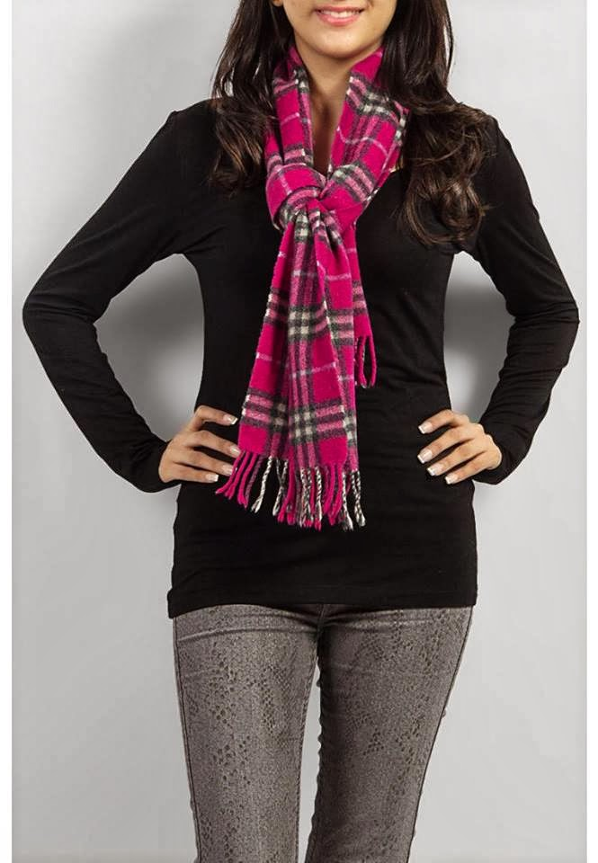 Latest Fashion Trends Winter Wear Scarf Stylish Design