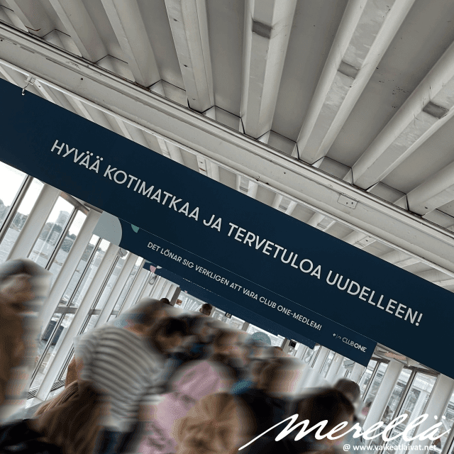 Helsingin kaupungin sosiaali- ja terveystoimen hidas toiminta satamassa hidastaa laivasta poistumista