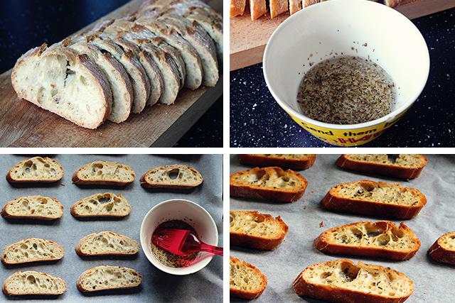 zelf crostini maken