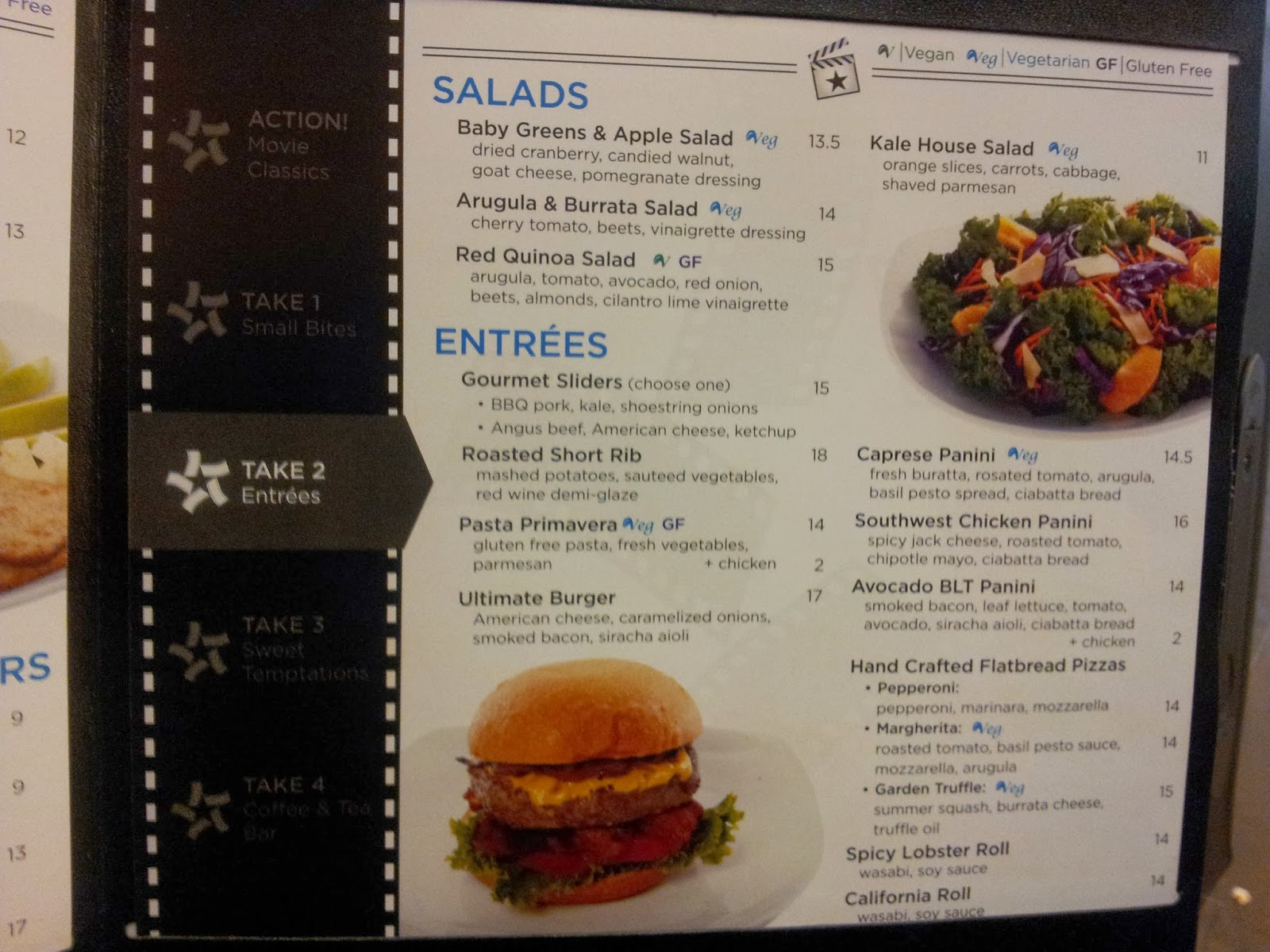 Cinepolis Rsm Food Menu