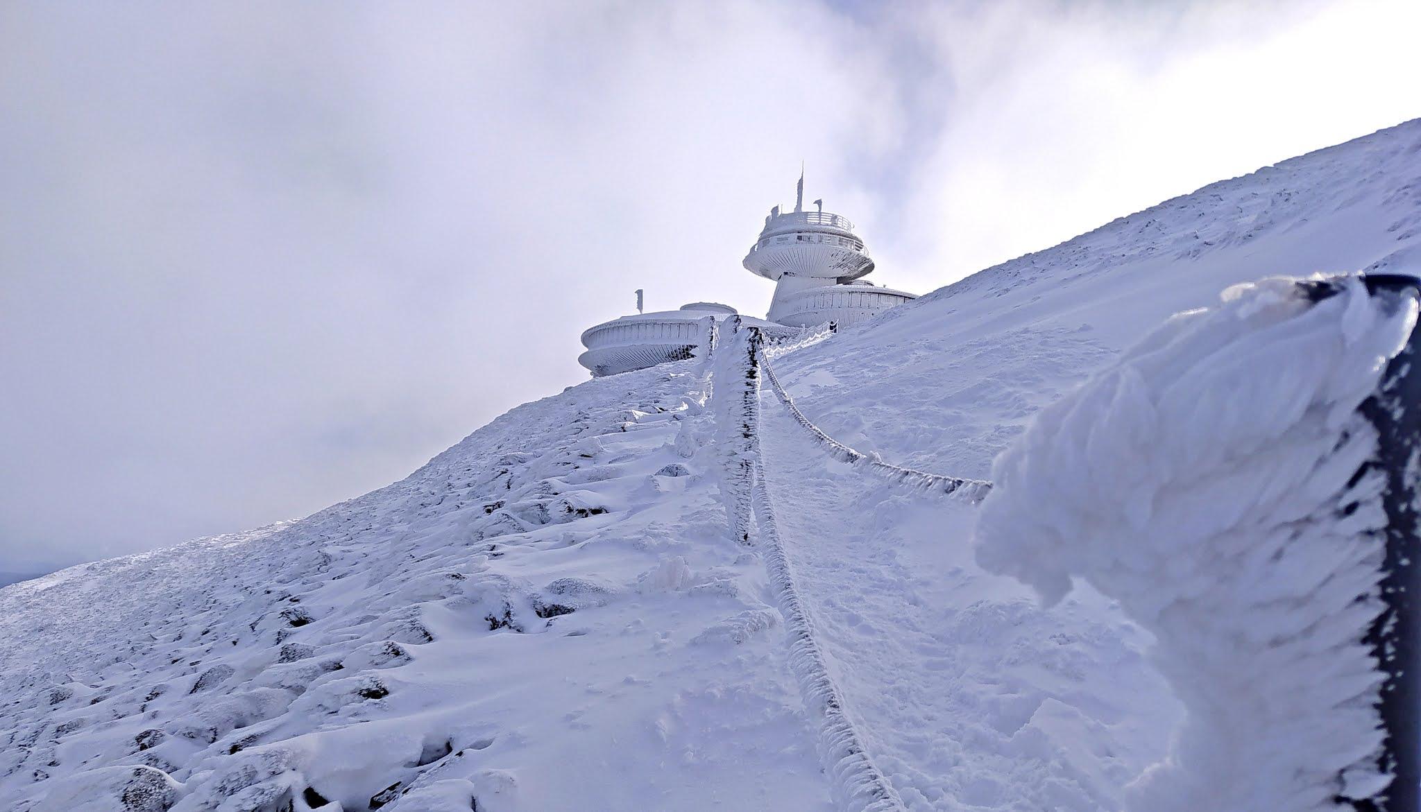 zimowa Śnieżka, stacja meteorologiczna