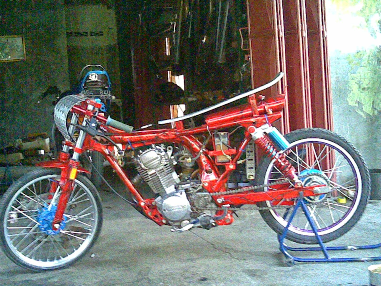 Gambar Motor Drag Cb