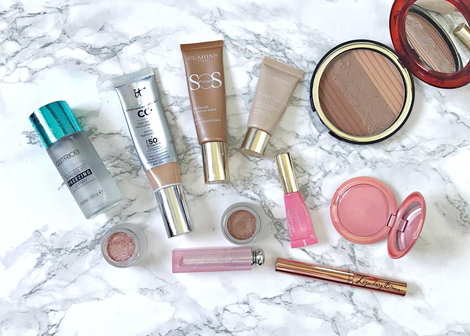 Summer makeup for dry skin
