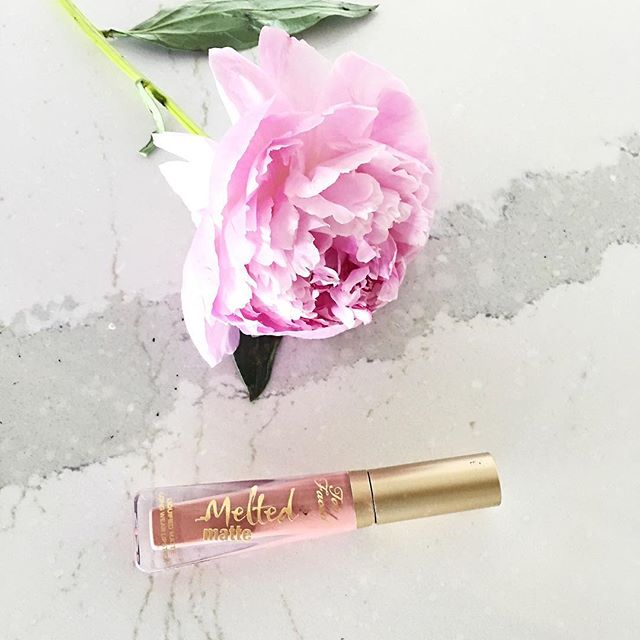 too faced melted matte lipstick review, child star too faced melted matte