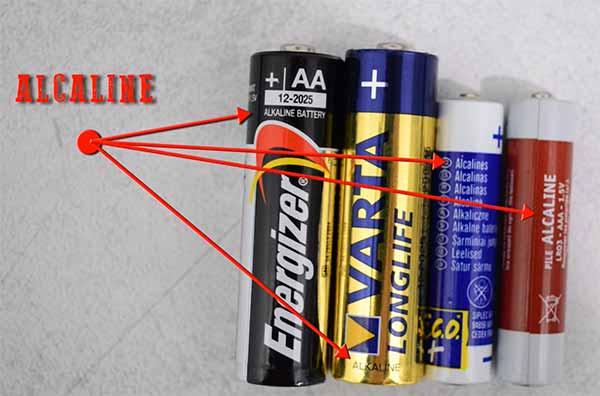 recharge de piles alcalines non rechargeables