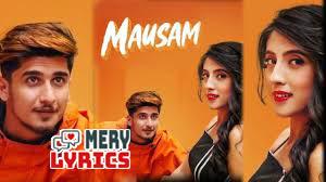 Mausam Lyrics By Anshul Seth