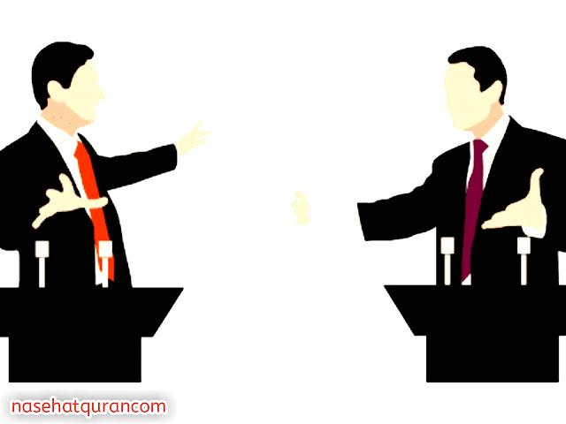 Gambar Hindari Perdebatan Meskipun Benar