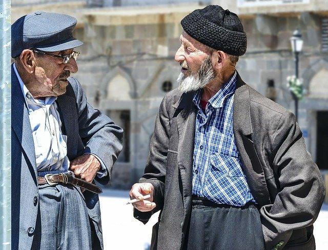 二人の老人