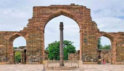 Hasil gambar untuk pilar besi new delhi