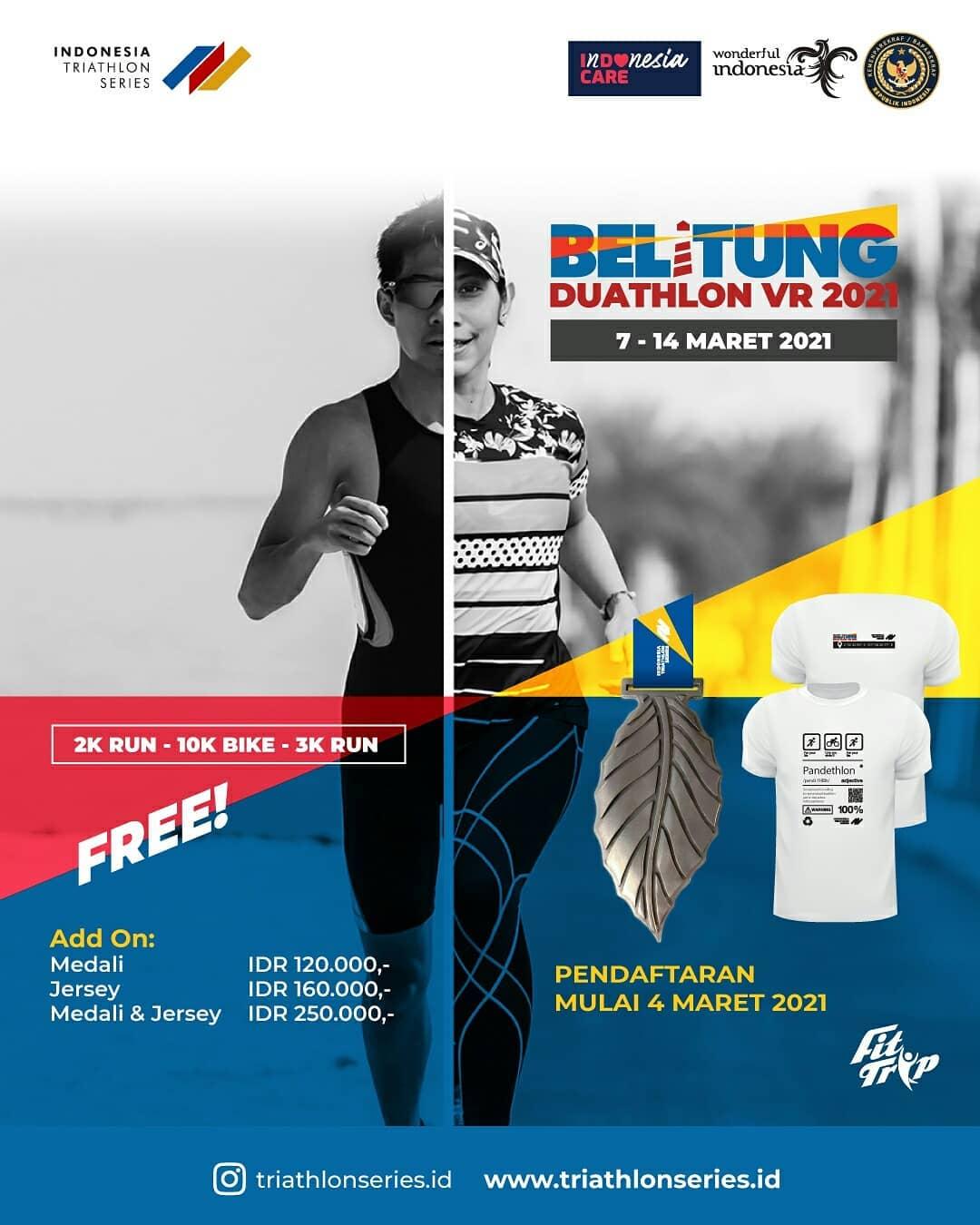 Indonesia Triathlon Series - Belitung Triathlon • 2021