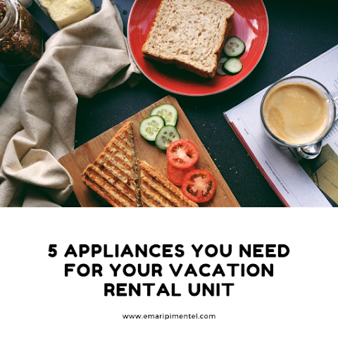5 Appliances for AirBnB Rental