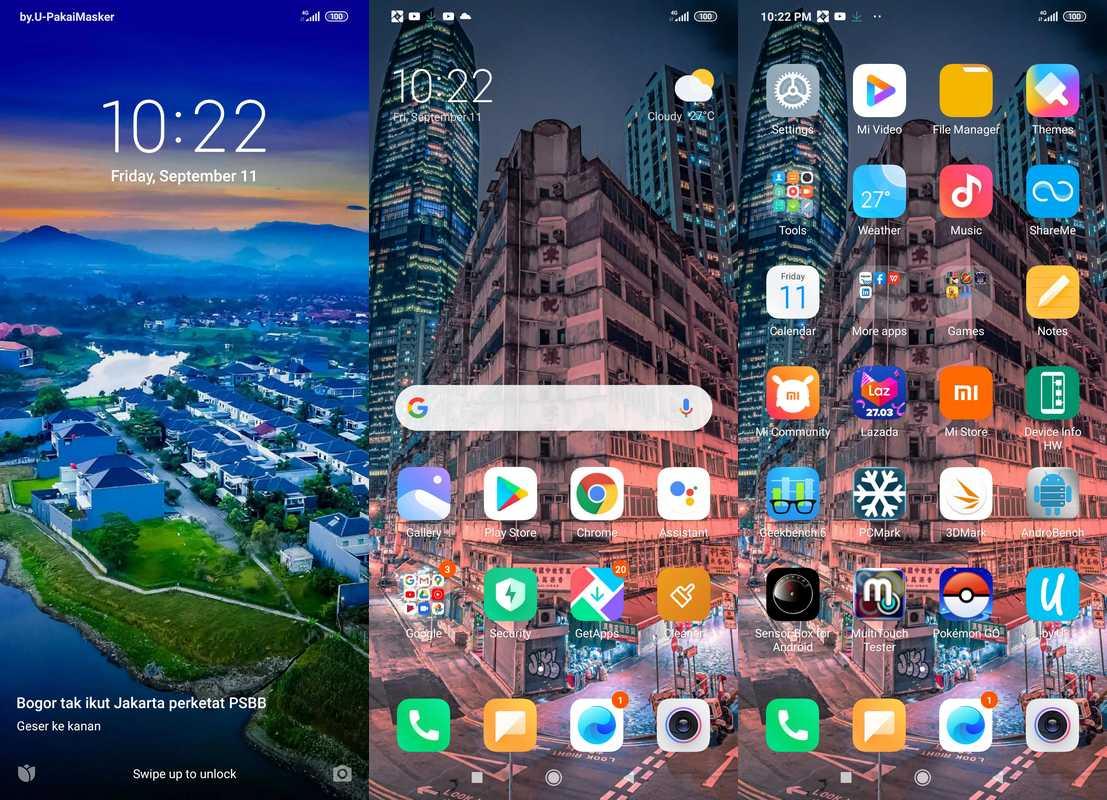 Antarmuka & Fitur Xiaomi Redmi 9