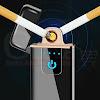 Korek Api Elektrik - USB Fingerprint Touch Sensor LED