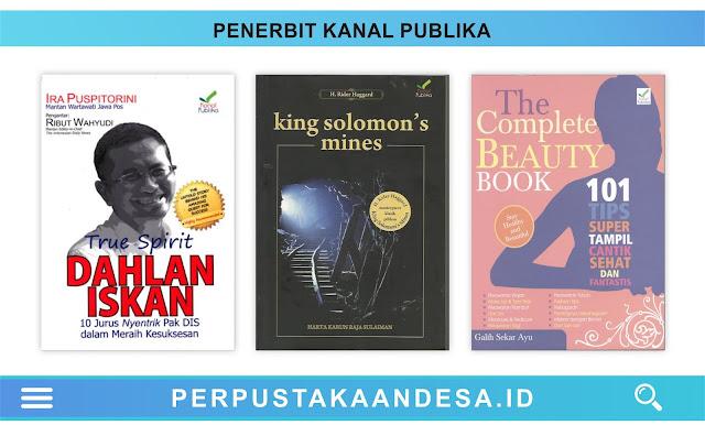 Daftar Judul Buku-Buku Penerbit Kanal Publika