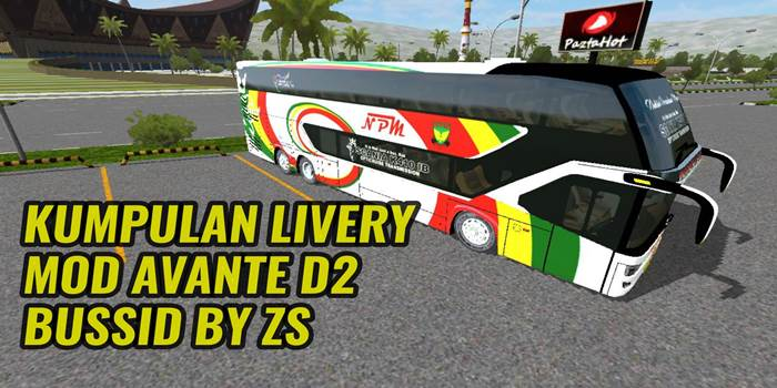 Livery Avante D2 Bussid By Zine Sujatmiko