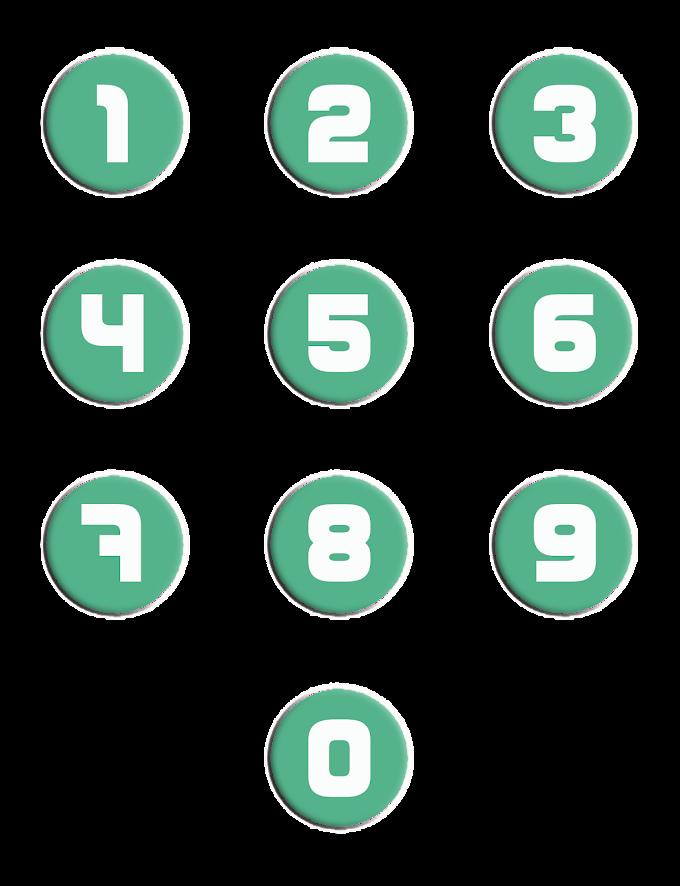 Nomor & Lingkaran