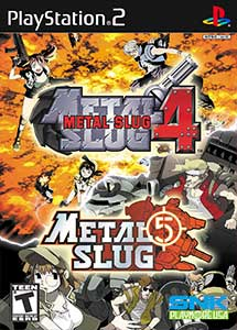 Metal Slug 4 & 5 PS2 ISO (Ntsc) MG-MF