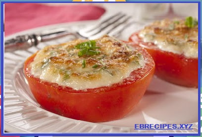 Cheesy Broiled Tomatoes