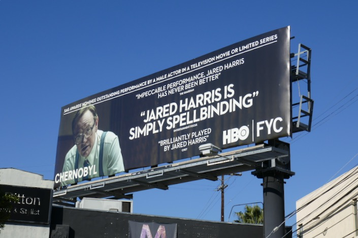 Jared Harris Chernobyl SAG Awards billboard