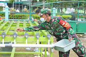 Saat Dilanda Pandemik, Kodim 0716/Demak Canangkan Ketahanan Pangan